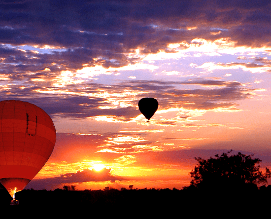 Outback Ballooning tour